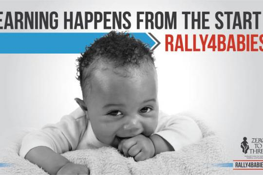 Learning happens from the start Rally4Babies