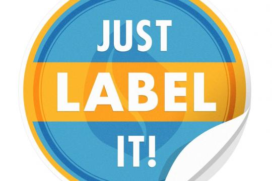 Just Label It!